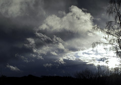 Dark Clouds Hanging In The Sky III