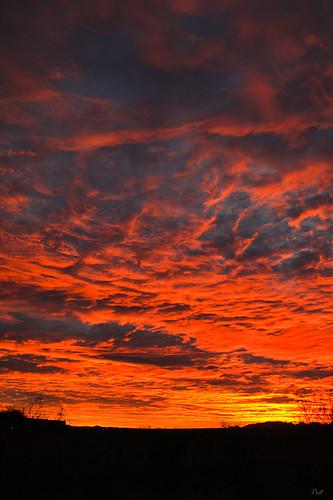 sunset arizona clouds az greenvalley