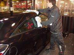 Lavado a mano. Opel Astra