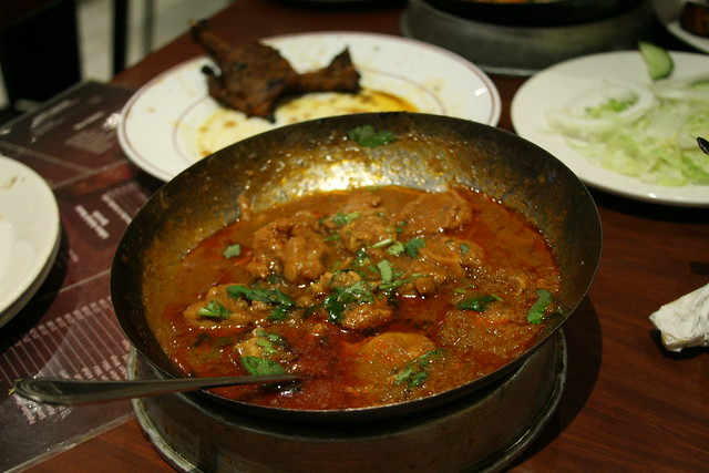 Lamb Curry at Lahore Kebab House, London