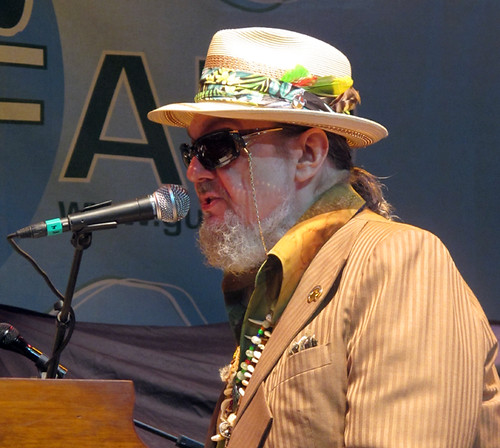Dr. John takes the lead with Voice of the Wetlands at Gulf Aid
