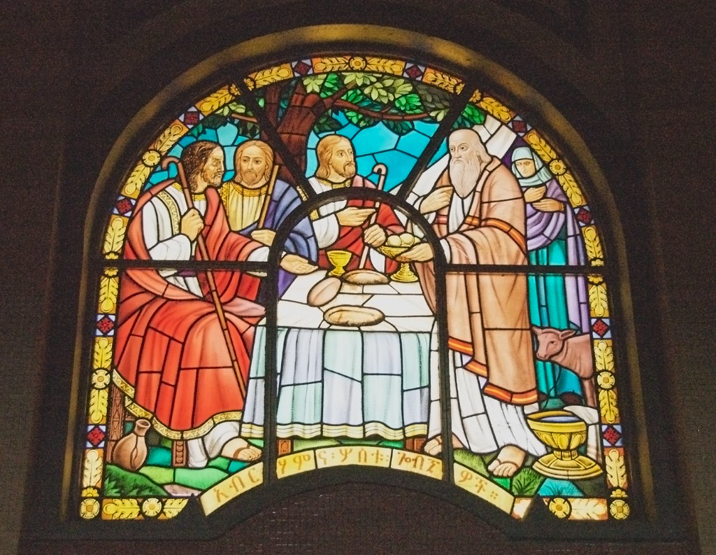 Stained Glass Window, Holy Trinity Cathedral, Addis Ababa
