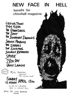 Chicohell benefit show flier | by vomitlaunchband
