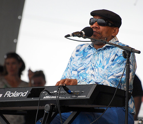 Henry Butler at the Gentilly Stage on May 1
