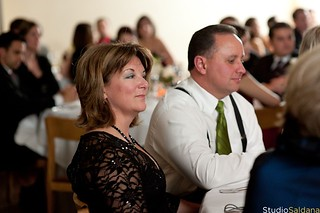 Dad & Laurie at our wedding | by GF in the City