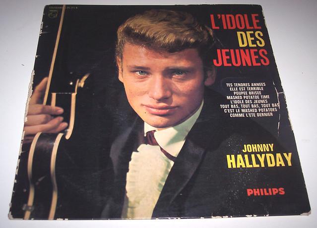 L'IDOLE DES JEUNES JOHNNY HALLYDAY