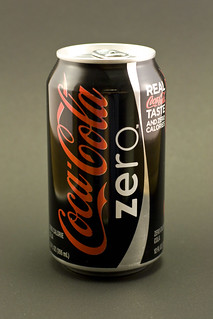 Coke Zero on black | by someToast