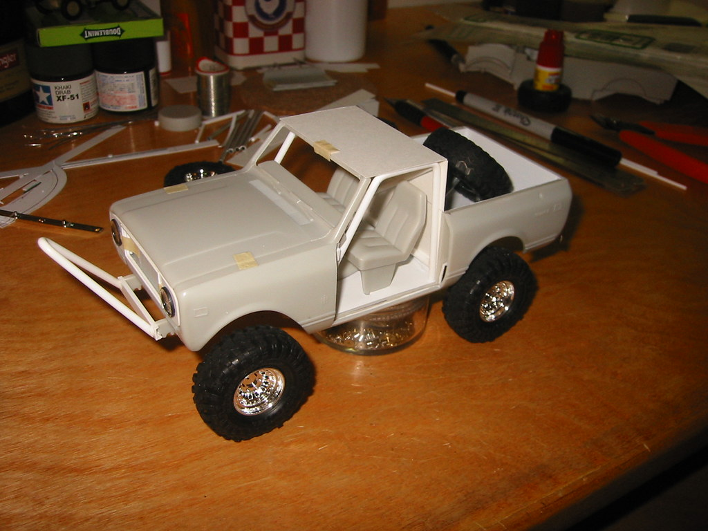 International Scout II (1/25 scale model scratchbuild) | Flickr