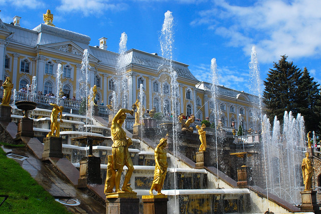 Peterhof The Grand Cascade