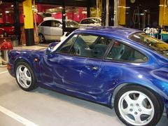 Pulir coche. Cera protectora. Porsche Carrera
