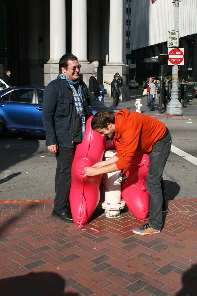 Transforming a fire hydrant