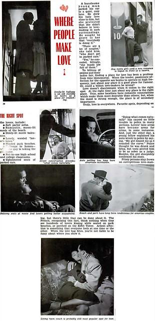 The Places People Make Love - Jet Magazine, November 8, 1951