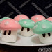 How to make meringue Mario mushrooms!