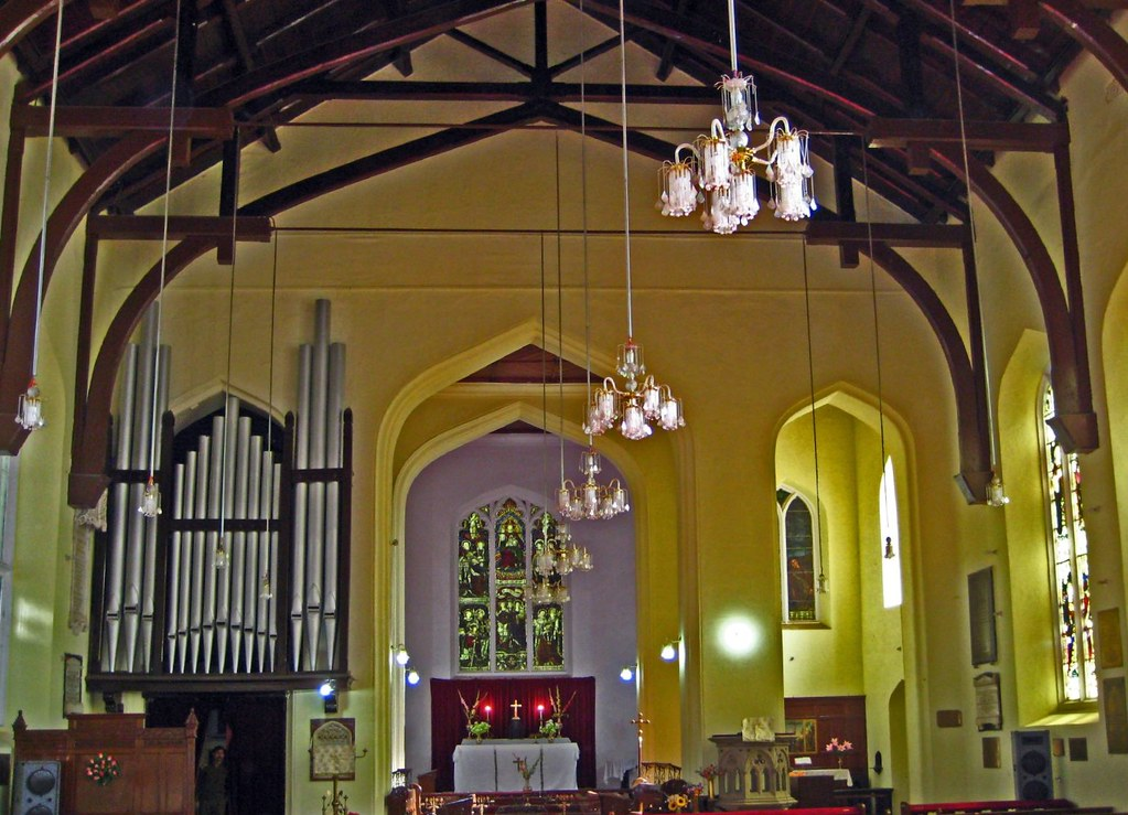 Interior - Christ Church, Shimla by sir_watkyn