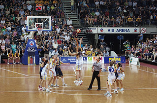 WNBL Grand Final Tip-off | by Ryan Wick