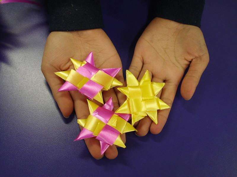 Matariki Star Weaving at Hornby