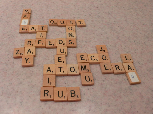Abstract Scrabble, first half | by skyfaller