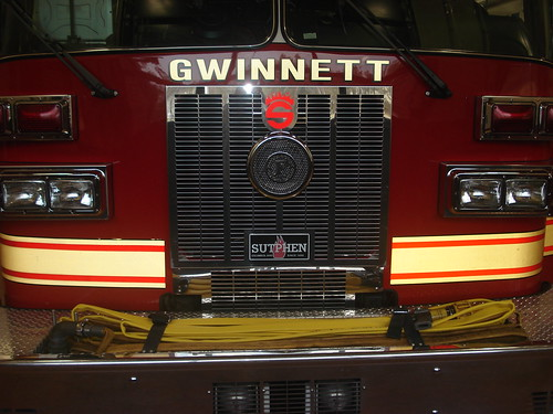 county truck ga georgia fire reserve service ladder department unit sutphen gwinnett gcfd gcfs