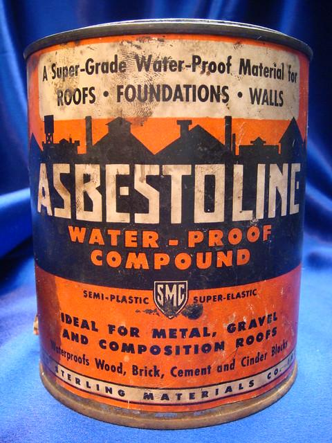 Asbestoline Asbestos Mastic