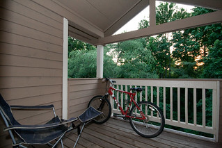 Deck with Bike | by @HandstandSam