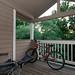 Deck with Bike