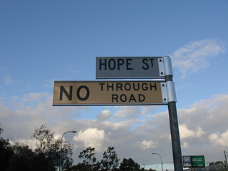 hope will get you nowhere