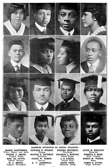 Banking Students From Black Colleges 1921