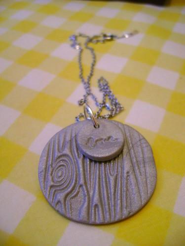 sculpey necklace | by stephanie alena
