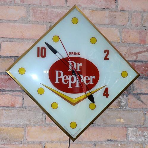 Dr. Pepper Clock   by laurasmoncur
