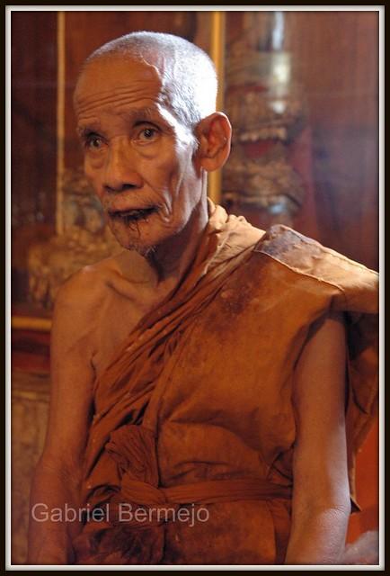 Monje anciano - Ayutthaya