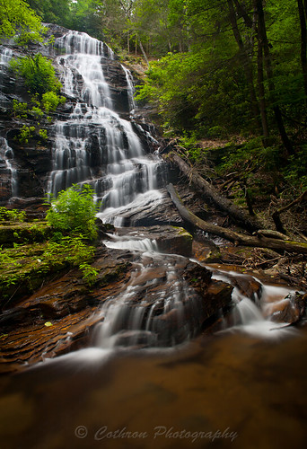 nature water georgia waterfall outdoor unioncounty horsetroughfalls johncothron cothronphotography