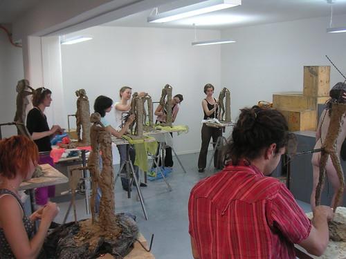 Aktmodellieren 09 | Aktmodellieren | Kunst- und
