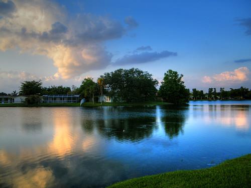 park parque usa lake tree grass arbol lago us fuji florida fl taft hdr arce broward browardcounty pembrokepines taftstreet fujis2000hd benfiorendino iarce
