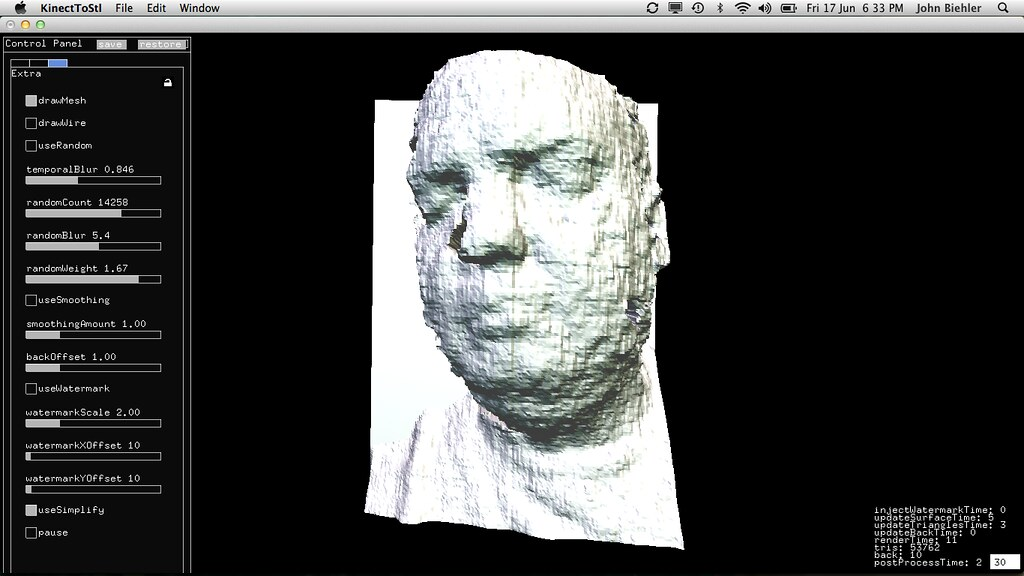 Using the Kinect as a 3D Scanner | Creepy, yes! Learning how