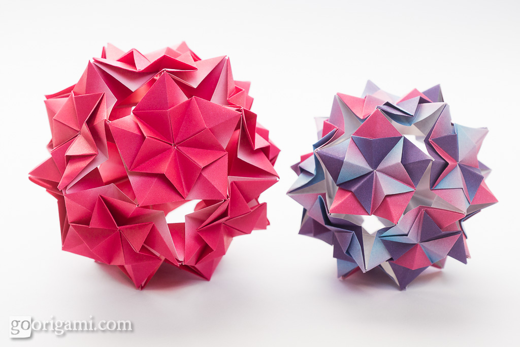 Optimum #kusudama #origami | With my tessellation experiment… | Flickr | 683x1024