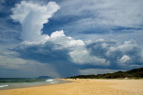 aus australia newsouthwales portmacquarie nikond750 seascape drama storm