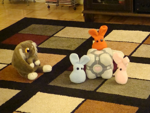 bunnies vs. cabbit