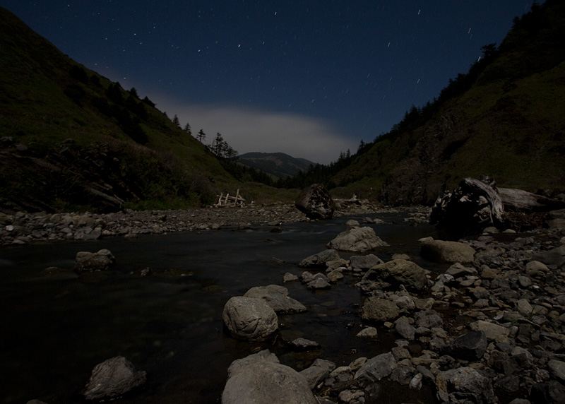 Moonlight on Cooksie Creek by AlwaysJanuary (Randy)