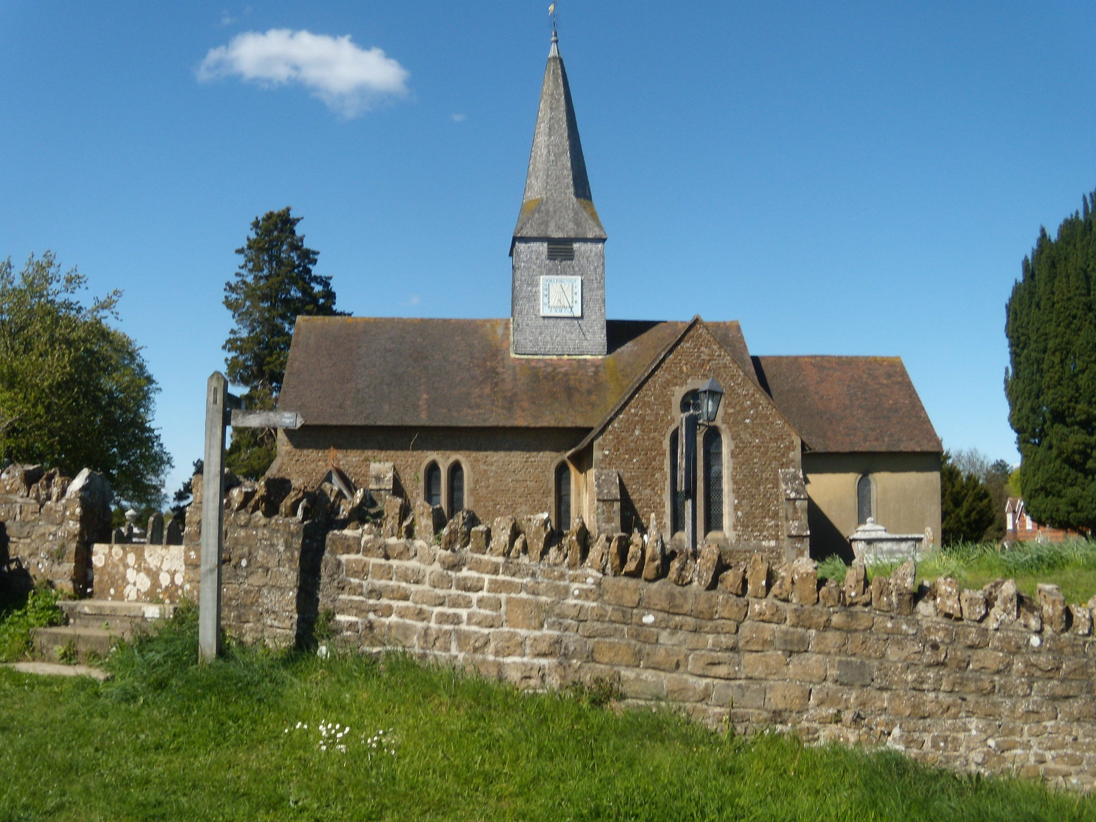 Thursley Church Milford to Haslemere