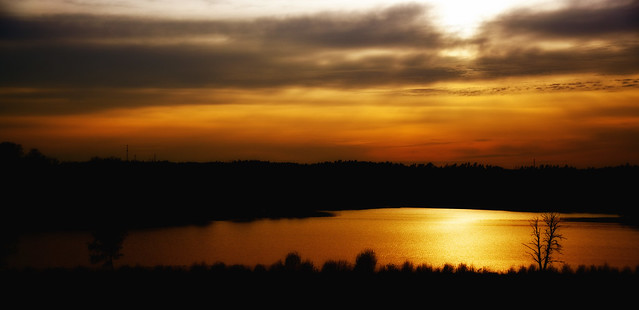 Evening sun...