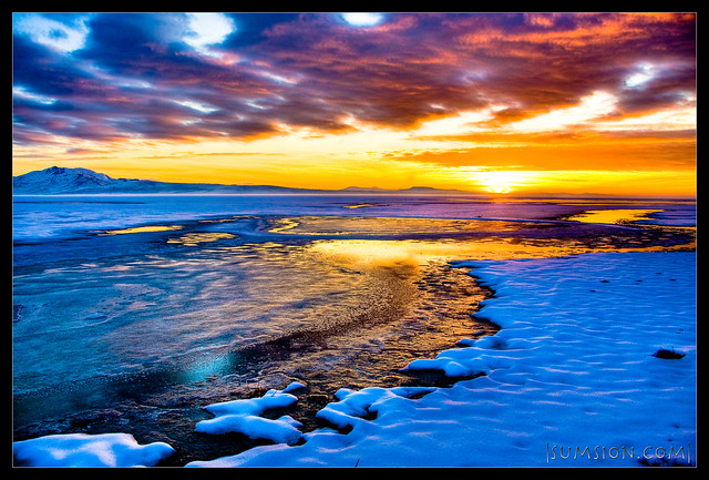Fire & Salty Ice :: HDR