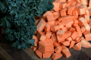Sweet Potato, Sausage & Kale Soup | by kristin :: thekitchensink