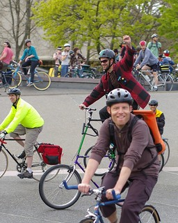 Critcal Mass Seattle April 2009