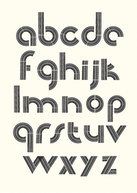 Barcode alphabet | Anthony Peters | Flickr