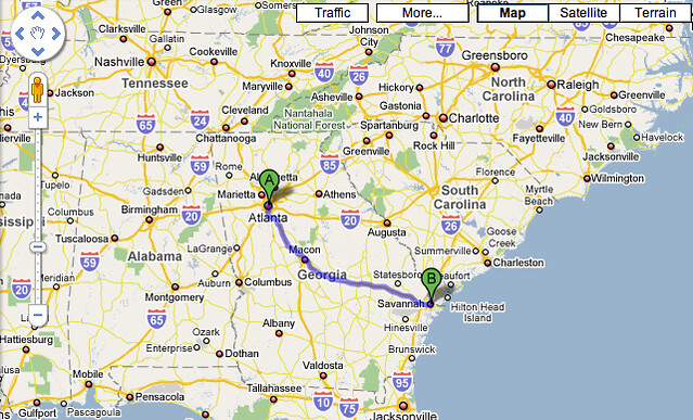 First Stage Atlanta Ga To Savannah Ga My Trips To The Usa Flickr