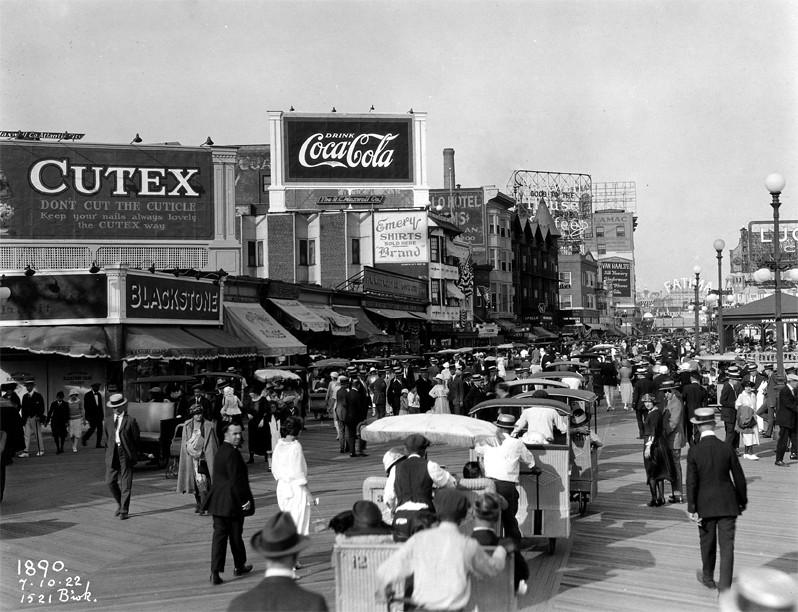 1922 Atlantic City NJ Boardwalk