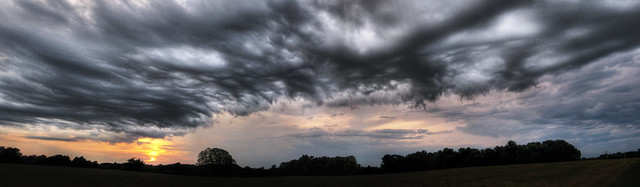 Storm clouds, Overton Co, TN