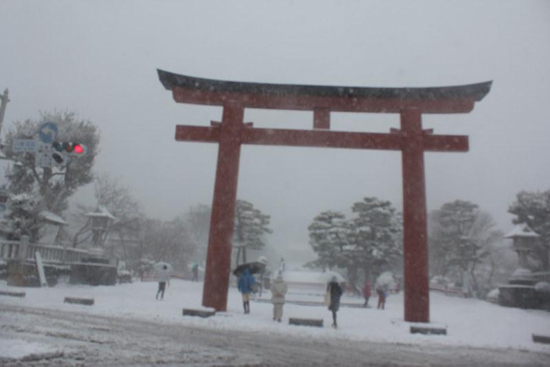雪の鎌倉_12