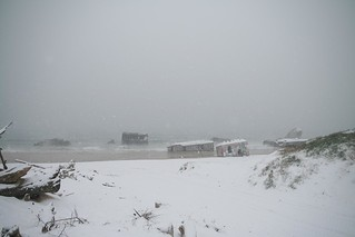 Capbreton under the snow #1 | by bobby hugges