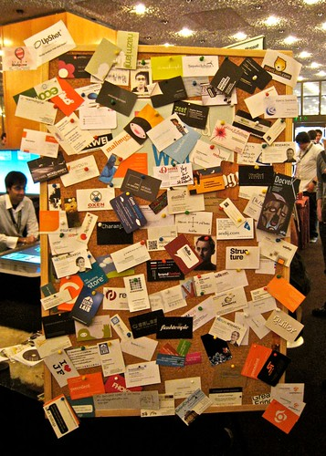 FOWD Business Card Wall | by vectorfunk